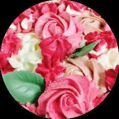 icone rose cake