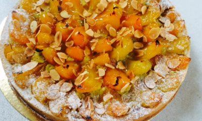 tarte abricot pistache